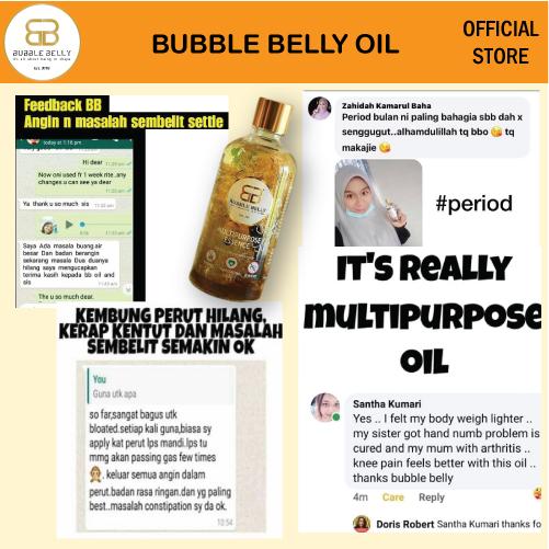 Bubble Belly Oil