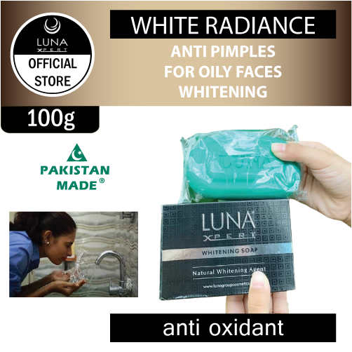 Luna Xpert Whitening Soap Original Pakistan